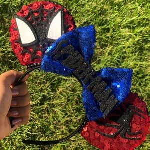 Spider-man Mickey Ears
